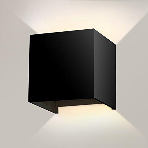 Lightess Lampada da Parete a LED 5W in Alluminio Stile Moderno Applique...