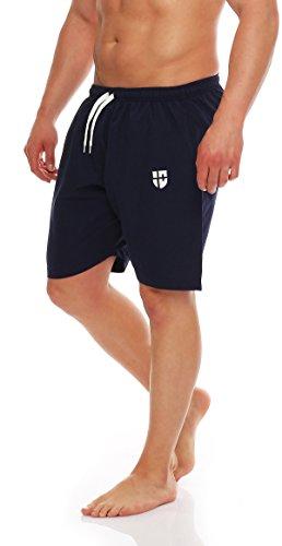 Gennadi Hoppe Herren Badeshorts Badehose Beach Shorts Schwimmshort,blau, XXXX-Large - Blaue Badehose