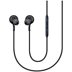 Samsung - AKG Casque EO-IG955 Casque pour Samsung Galaxy S8 et S8 Plus, Noir