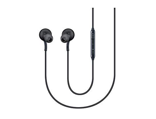 Auriculares con micrófono para Samsung Galaxy S8 y S8 Plus, negro [eo-ig955]