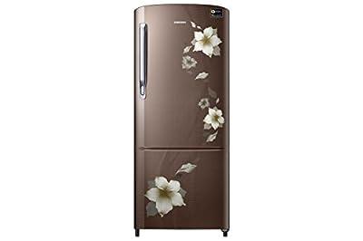 Samsung 192 L 3 Star Direct Cool Refrigerator (RR20M172ZD2/RR20M272ZD2 , Star Flower Brown)