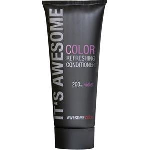Awesome Colors Color Refreshing Conditioner Violet, 200 ml - Klimaanlage Color-glanz
