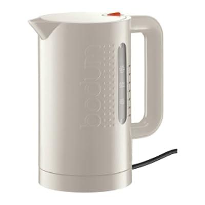 Bodum - 11154-913EURO - Bistro - Bouilloire Electrique - 1 L - Blanc Crème