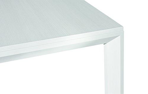 Legno Bianco Frassinato : Fashion commerce fc tavolo legno bianco frassinato cm