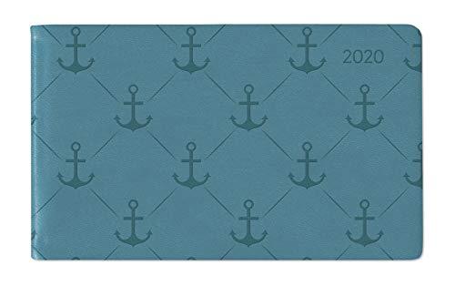 Ladytimer TO GO Deluxe Turquoise 2020 - Taschenplaner - Taschenkalender quer (15 x 9)- Tucson...