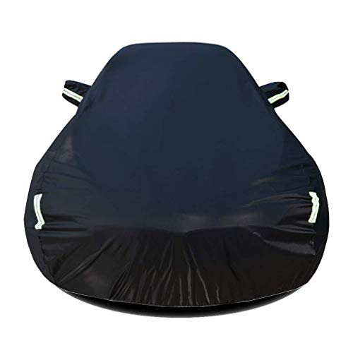 HL-TD Car Cover Kompatibel Mit Renault Captur Car Tarpaulin Oxford Cloth Eine Plane Wasserdicht Isolierung (Color : Black)