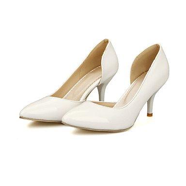 Zormey Frauen Schuhe Kunstleder Stiletto Heel Heels Heels Hochzeit / B¨¹ro & Amp Karriere/Kleid/Casual Schwarz US9 / EU40 / UK7 / CN41