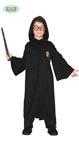 (Guirca Zauberer Schüler Kostüm für Kinder Gr. 98-146, Größe:128/134)
