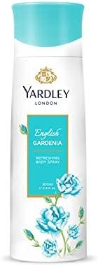 YARDLEY English Daisy Body Spray for Women, Elegant dewy fresh green floral fragrance, Sandalwood and Musk, 20