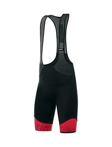 Santini Herren Sleek 99Bib Shorts, Herren, FS1075GIT99, rot, XXL