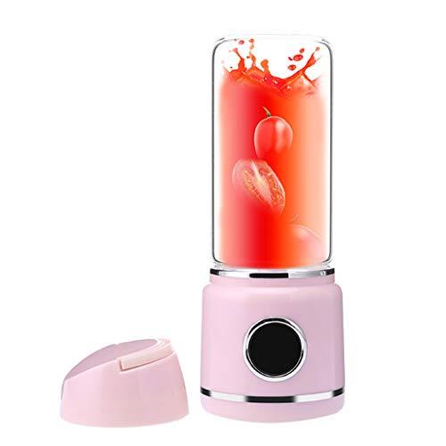 Yusell  HEISSER tragbarer elektrischer Mixer-Frucht-Entsafter-Kaffee-Milch-Mischer-Hersteller Maschine Werkzeug (Rosa)