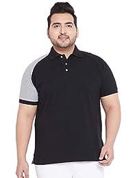 017c73f545f73 BIGBANANA Edward Colorblock Polo T-Shirt-Sizes (2XL-6XL)
