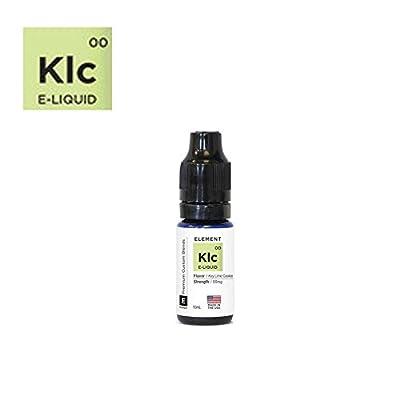 Key Lime Cookie Flavour - Premium E-Liquid Vaping Liquid For Electronic Cigarette Shisha Pen - No Nicotine by Element E-Liquid