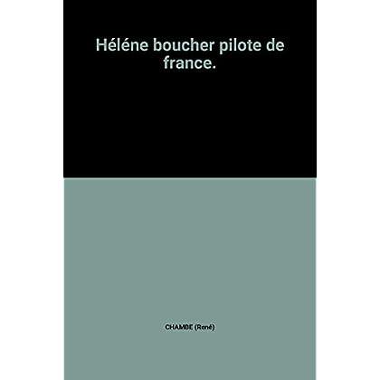 Hélène Boucher pilote de France