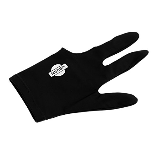 Billard Handschuh Snooker Pool Glove - Schwarz