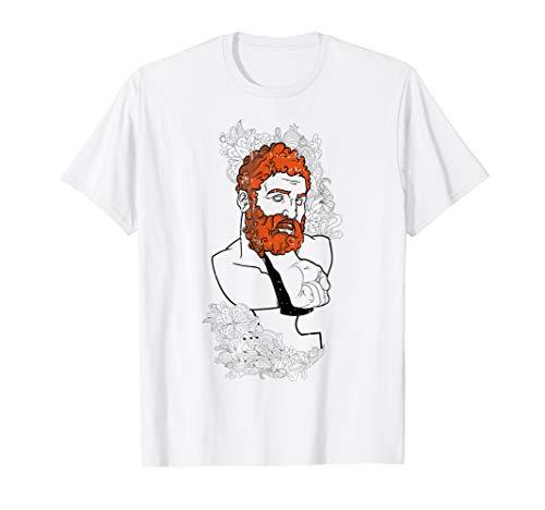 Kostüm Kind Gott Griechischer - Griechischer Gott Kostüm Lustiges Halloween Outfit T-Shirt