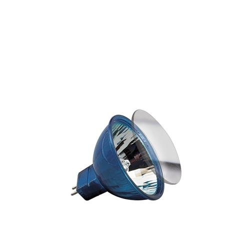Low-voltage halogen reflector, happy colour 35 W GU5.3, blue