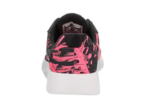 Basket, couleur Rose , marque NIKE, modèle Basket NIKE NIKE TANJUN PRINT Rose Noir-Rose