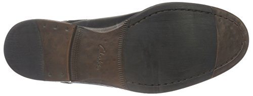 Clarks Brocton Walk, Scarpe Stringate Uomo Nero (Black Leather)