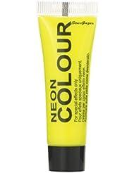 Peinture Visage et Corps Stargazer - couleur : jaune - Fluorescente sous Lumière Noire (UV) - 10ml