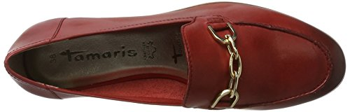 Tamaris Ladies 24421 Slipper Red (chili 533)