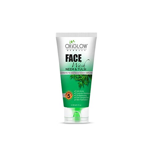 Oxyglow Neem & Tulsi Face Wash Pack Of 1