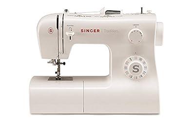 Máquina de coser Singer Tradition 2282, 32 puntadas, Ojalador y Enhebrador Automático en 1 tiempo de Singer