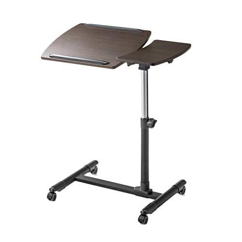 Lapdesks Laptop-Tisch Stahlhalter Doppel-Panel-Laptop-Schreibtisch Kann Angehoben Und Abgesenkt Werden Verstellbare Abnehmbare Laptop-Halterung Kleinen Schreibtisch Leseregal Frühstückstisch -