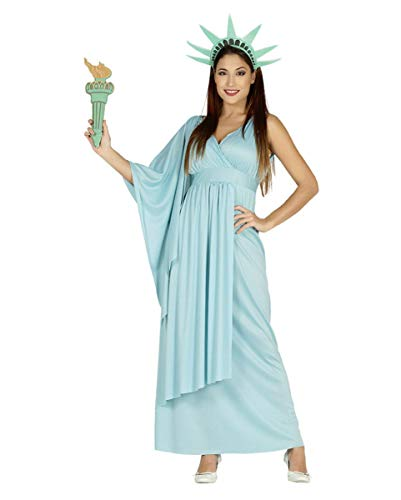 Horror-Shop Lady Liberty Kostüm für Damen - Liberty Kostüm