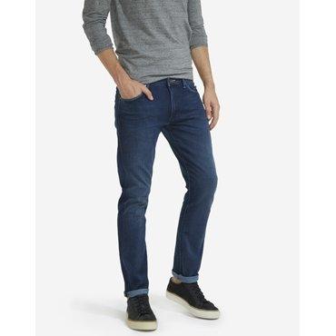 Wrangler Herren Jeans Larston Slim Jeans, Blau (Blue), W34/L32 -