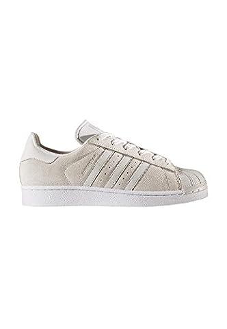 adidas Superstar W, Chaussures de sport femme - gris - Gris (Griuno/Griuno/Gridos), 40 EU