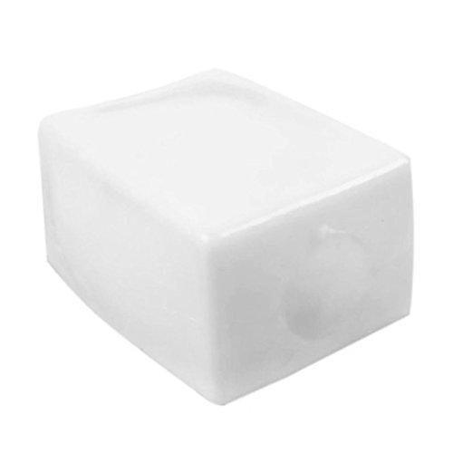 Mengonee Pastel de tofu blando cara de la sonrisa Sueeze juguete del regalo del cabrito Pan antiestrés broma del friki Alivio Gadget