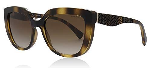 Ray-Ban Damen 0RA5254 Sonnenbrille, Schwarz (Dark Havana), 54.0