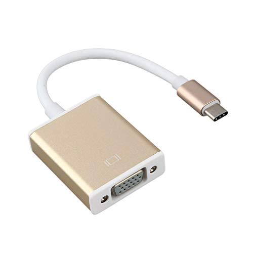 Nihlssen Type C USB3.1 to VGA Adapter USB-C to VGA
