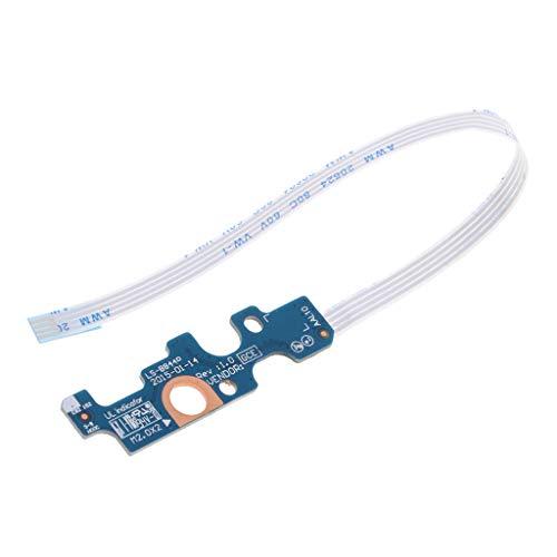 perfk Laptops Power Button Board + Flex-Ersatzteile für Dell 14U / 15U 5559 3558 5758 Notebooks -