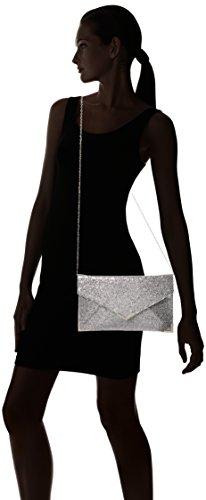 SwankySwans ,  Damen Handtasche ohne Henkel Grau