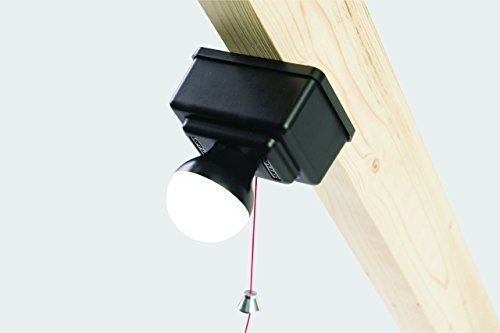 Loftleg Easy to Install LED Loft Light/Shed Light 350 Lumen