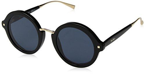 Max mara occhiali da sole mm needle viii black/blue donna