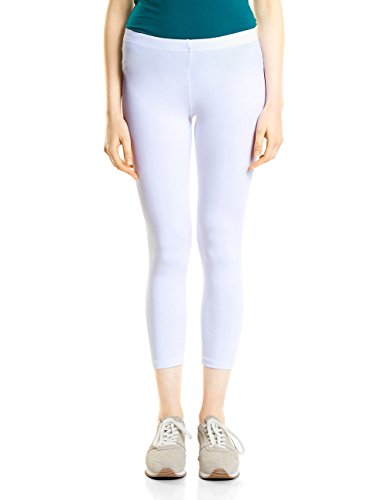 Street One Damen Hose 371433 Leggings, Weiß (White 10000), 34 Preisvergleich