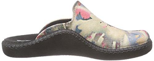 Romika - Mokasso 117, Pantoufles Pour Femmes Multicolores (mehrfarbig (multicolor 900))