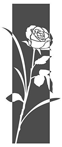 Rose Banner Ranke Wandbanner Schlafzimmer Wohnzimmer Bett Wanddeko ()