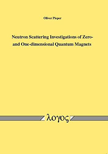 Neutron Scattering Investigations of Zero- and One-dimensional Quantum Magnets