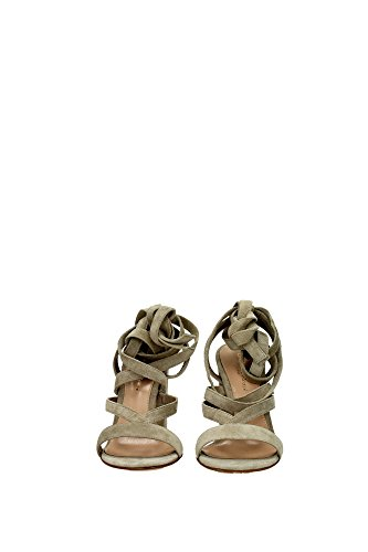 G3065200RICCAMCACE Gianvito Rossi Sandale Femme Chamois Beige Beige
