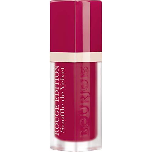Bourjois Rouge Edition Souffle Velvet Lipstick - 07 Plum Plum Pidou 7.7ml - Plum Sheer Lipstick
