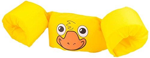 Sevylor Schwimmflügel Puddle Jumper, für Kinder und Kleinkinder von 2-6 Jahre, 15-30kg, Schwimmscheiben, gelb, Ente