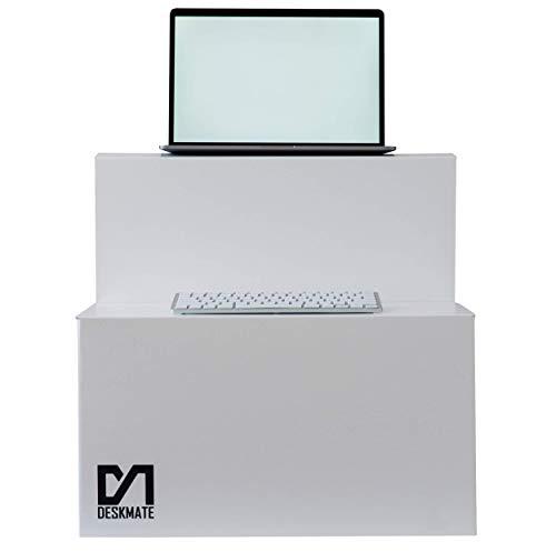 Deskmate standing desk - Stehpult - Praktischer als ein höhenverstellbarer Schreibtisch -...