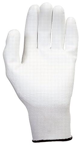 KS Tools 310.0455 Mikro-Feinstrickhandschuhe-weiß, XL, 12