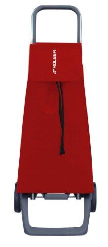 ROLSER Einkaufsroller JOY/JET LN, JET001, 40 Liter, 40 kg Tragkraft, 35 x 39 x 97,5 cm, rot