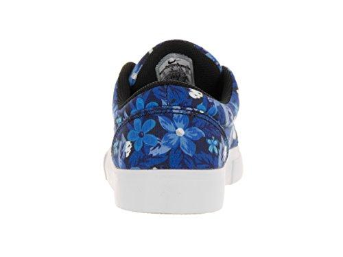 Nike Satire Canvas Premium, Scarpe da Skateboard Uomo Multicolore (Azul / Blanco / Marrón  (Dp Ryl Blue/White-Gm Lght Brwn))