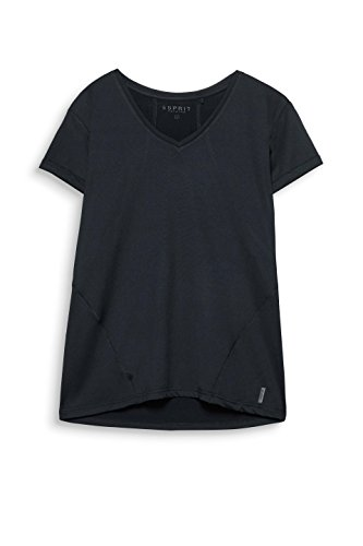 ESPRIT Sports Damen Sport Shirt Schwarz (Black 001)